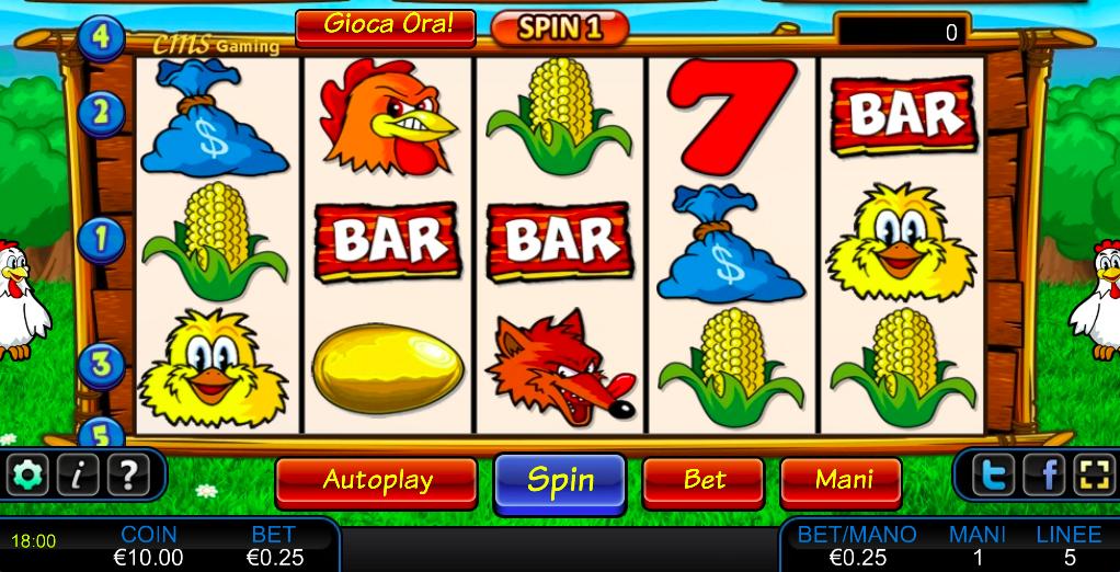 Slot Machine Gratis La Gallina